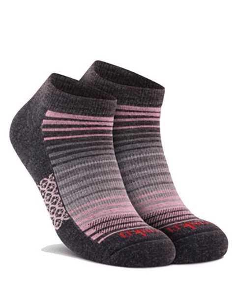 Picture of Stripe Low Cut Grey Sock