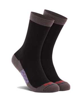Picture of Two Tone Crew Black Sock