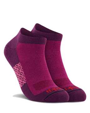 Picture of Two Tone Low Cut Purple Sock