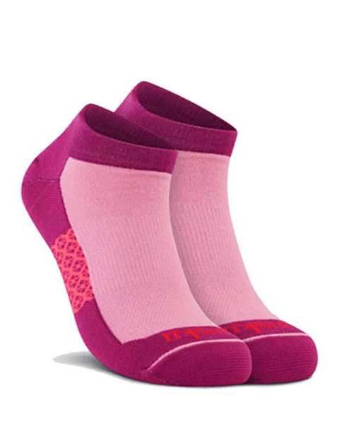 Picture of Two Tone Low Cut Pink Sock
