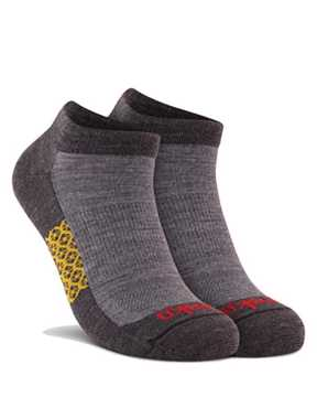 Picture of Two Tone Low Cut Grey Sock