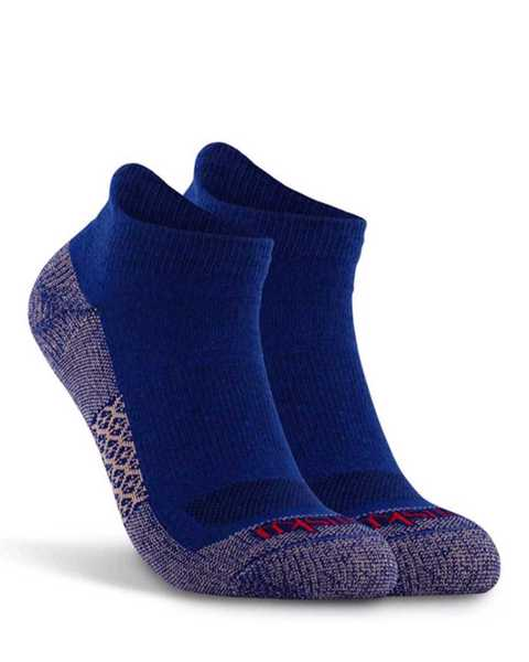 Picture of Monotone Ankle Cobalt Sock