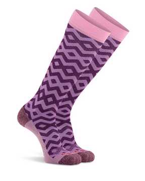 Picture of Gem Knee High Lilac  Compression Sock