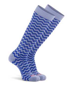 Picture of New Wave Knee High Cobalt Compression Sock