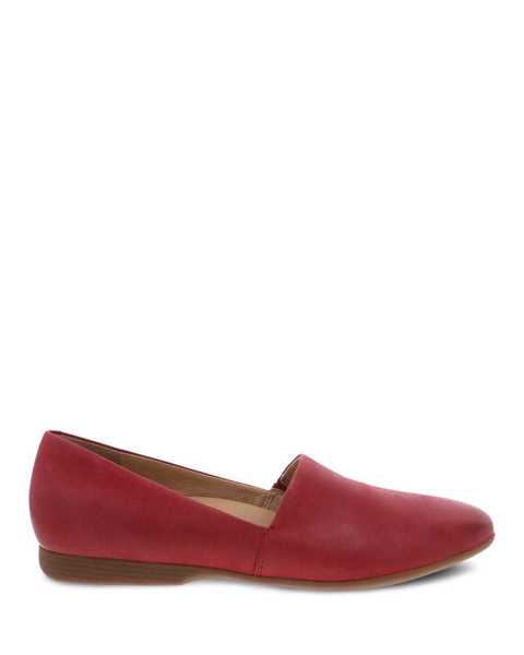 Picture of Larisa Red Burnished Nappa