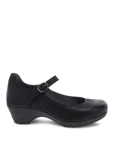 Picture of Marla Black Burnished Calf