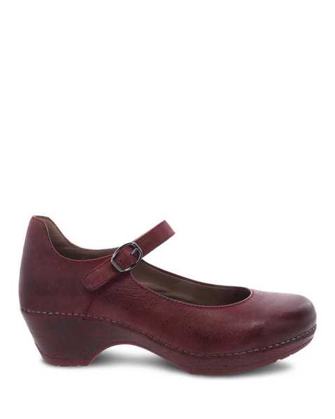 Picture of Marla Ruby Burnished Calf