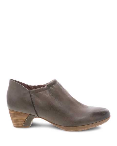 Picture of Debbie Taupe Burnished Nubuck