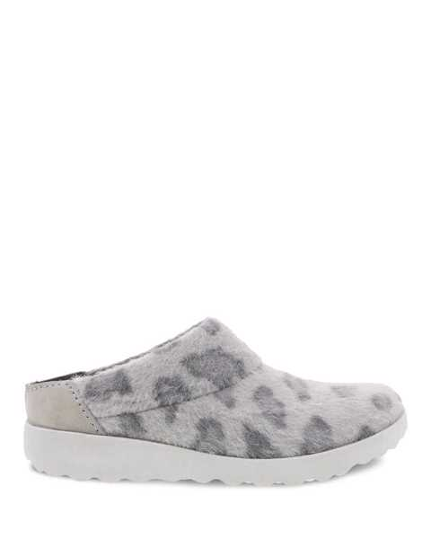Picture of Lucie Grey Leopard Mule