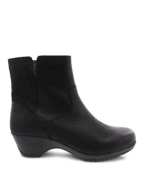 Picture of Meghan Black Burnished Calf