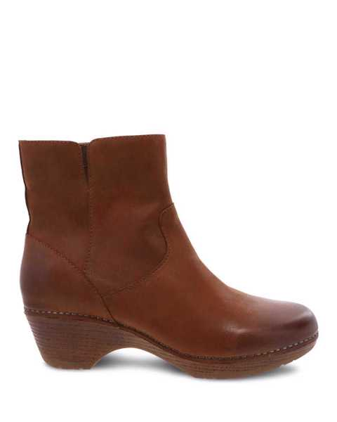 Picture of Meghan Saddle Burnished Calf