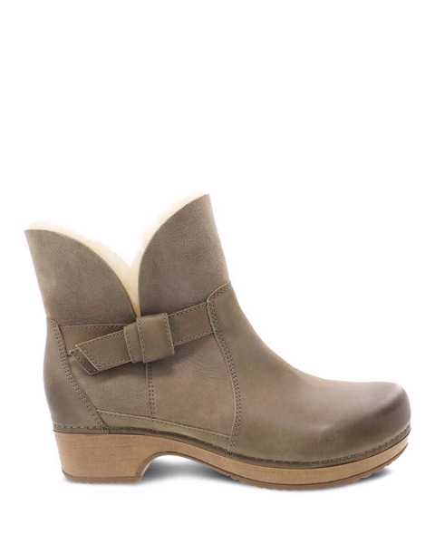 Picture of Bessie Taupe Burnished Nubuck