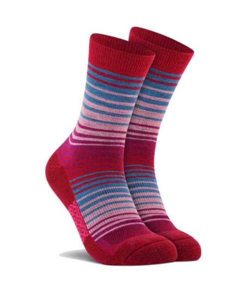 Picture of Stripe Crew Red Sock