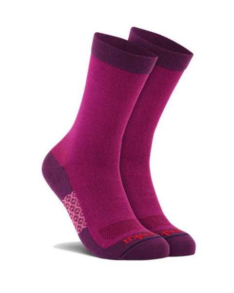 Picture of Two Tone Crew Purple Sock