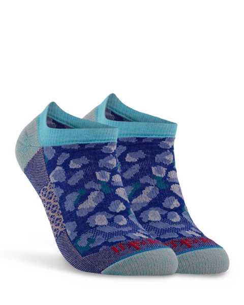 Picture of Cheetah Low Cut Cobalt Sock
