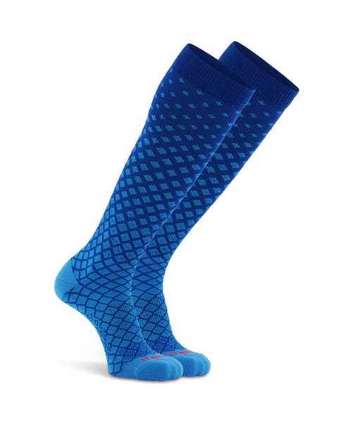 Picture of Variance Knee High Cobalt Compression Sock