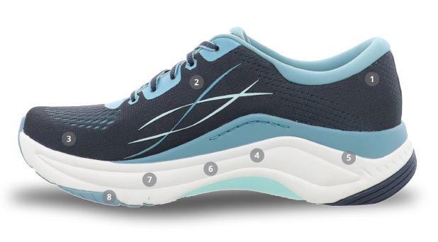 Dansko Pace sneaker comfort and performance details
